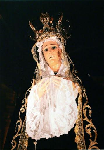 Viernes Santo en la Iglesia Colegial Basílica de Santa maría de Xàtiva 2014