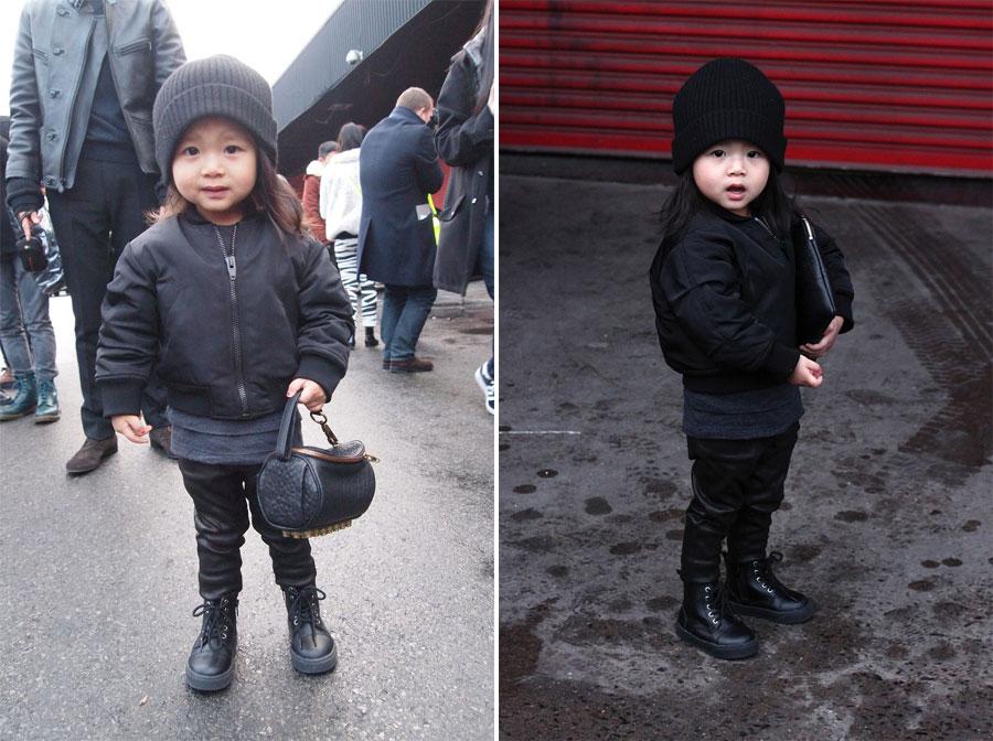 *Alexander Wang(王大仁)紐約時裝秀:小姪女時尚現身! 4