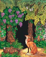 αλεπού και τα σταφύλια,μύθος αισώπου,καλύτερο παραμύθι.