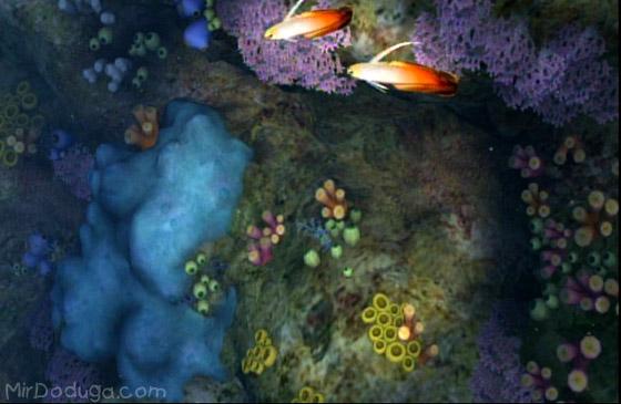 Рыбки из Endless ocean blue world