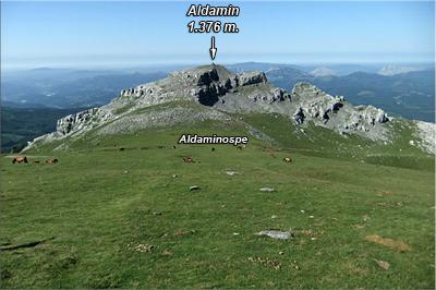 Descendemos hasta Aldaminospe