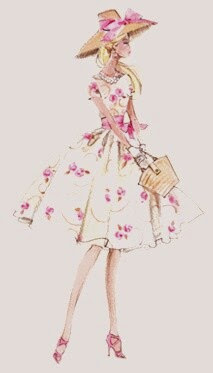 Vintage Dresses for doll