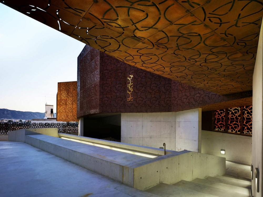 Monteagudo Museum design by Amann-Cánovas-Maruri