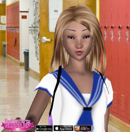Fashion Party Dress Up Level 2 - High School - Danielle - Snapshot