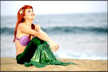 Maquiagem inspirada na princesa da Disney Ariel