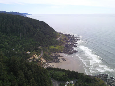 The top of Cape Perpetua