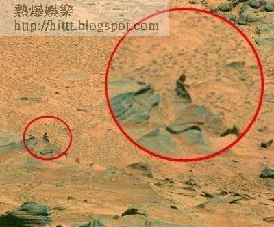 NASA員工爆料 火星上有2位不明人士