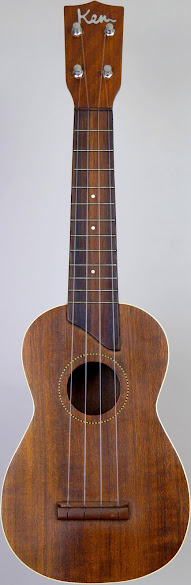 B&J Kent made in japan Soprano Ukulele Corner