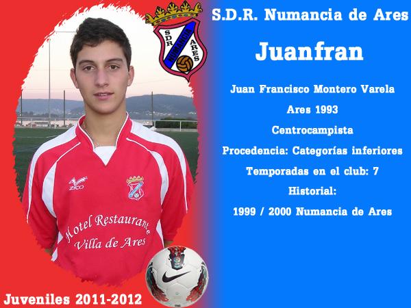 ADR Numancia de Ares. Xuvenís 2011-2012. JUANFRAN.