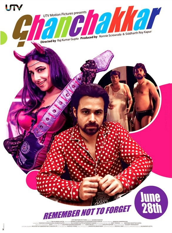 Poster Of Hindi Movie Ghanchakkar (2013) Free Download Full New Hindi Movie Watch Online At Alldownloads4u.Com