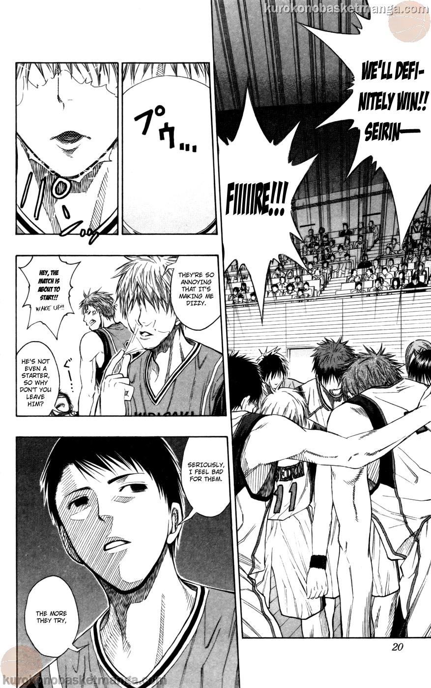 Kuroko no Basket Manga Chapter 100 - Image 18