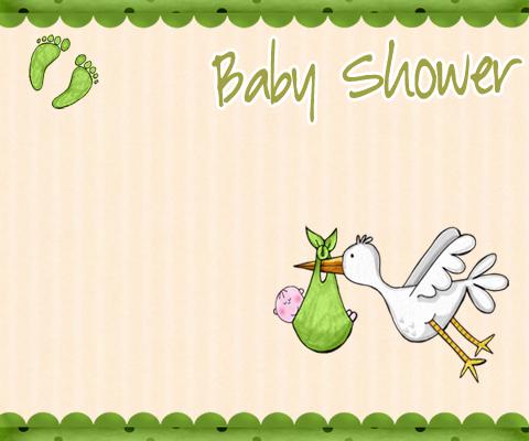 Baby Shower Feet Cake