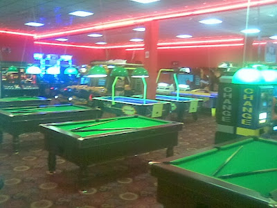 skegness amusement arcade empty out of season