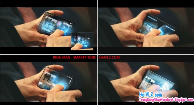 điện thoại trong phim viễn tưởng - tải ứng dụng android