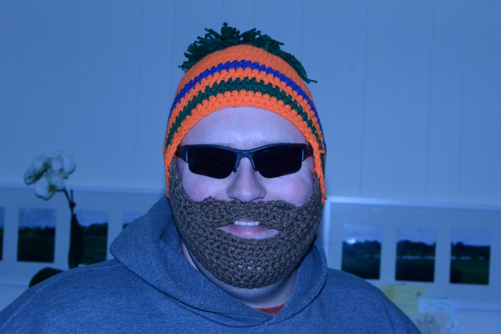 Pattern Crochet Beard Hat : Craft Disasters and other Atrocities: Das Beardhat - Revised