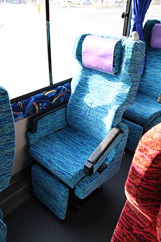 北海道バス「函館特急ニュースター号」 ・986 シート