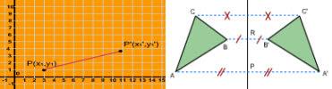 animasi dan simulasi matematika, contoh contoh, bentuk-bentuk transformasi, materi translasi, refleksi