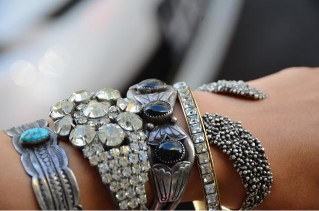 Bracelets tendance hiver 2013