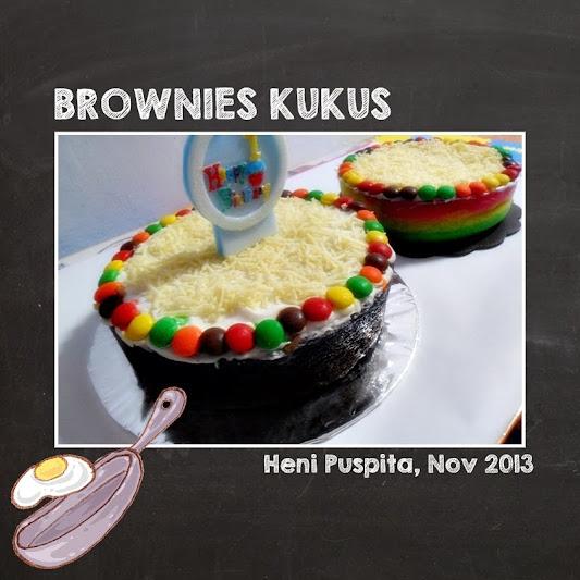 Brownies Cokelat Kukus   clumsylicious
