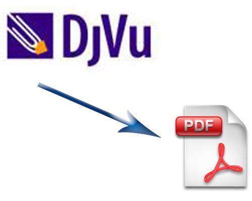 Ковертировать djvu в PDF ubuntu linux