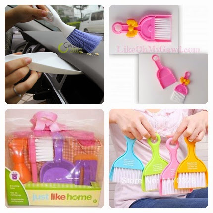 {focus_keyword} Tips Makan Luar Dengan Baby, Tanpa Dijeling Tuan Kedai  font b Mini b font Car Cleaning Brush font b Broom b font Dustpan Set tile