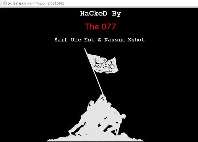 Nasa HaCkeD By The 077 & DinelSon Tunisian HaCker