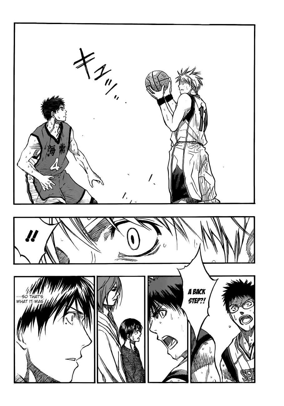 Kuroko no Basket Manga Chapter 191 - Image 10
