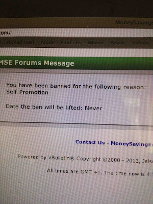 banned from MSE