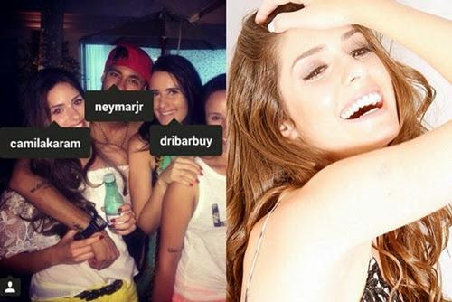 Lộ diện chân dài sắp mắc lưới tình của Neymar