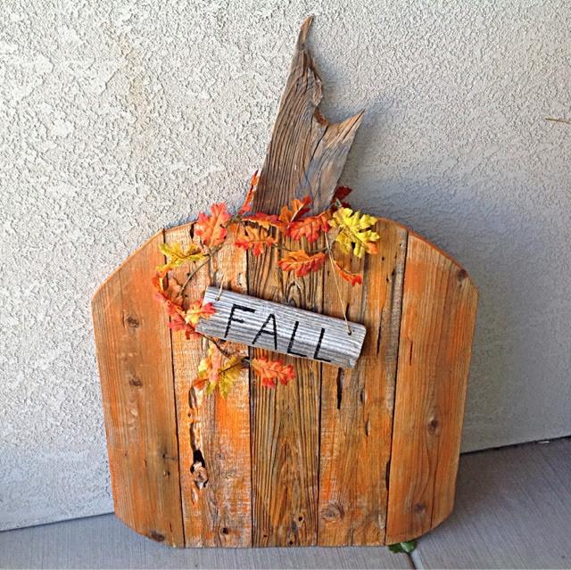 Outdoor Fall Decorating Pumpkin Ideas: Shabby Redo For You !: Fall Decor & DIY