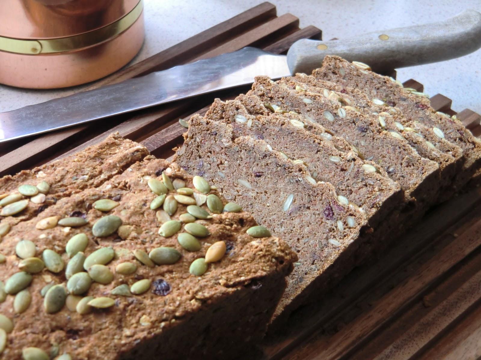 glutenfritt och mjölkfritt bröd