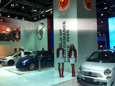 Abarth display