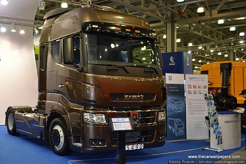 New Kamaz Trucks Launched