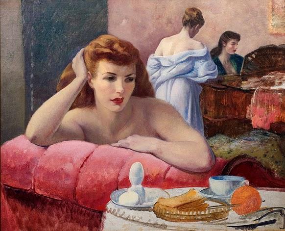 Leon Kroll - Three Women