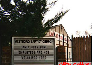 ok, westboro baptist are a bunch of militant, homophobic assholes, but ignore that...you know what we're going for here...