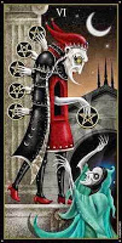 Tuesday Tarot The Six Of Discs And The Need To Be Charitable