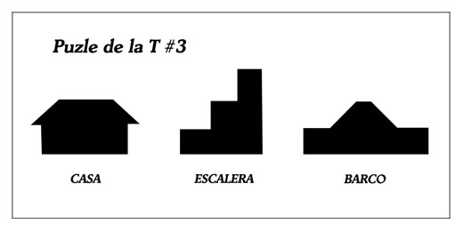 Puzzle de la T - M·s figuras #3