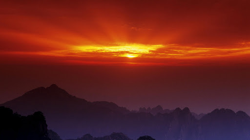 Huangshan at Sunset, China.jpg