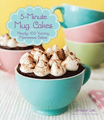 5 Minute Mug Cakes cookbook cover