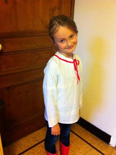 Couture tunique école