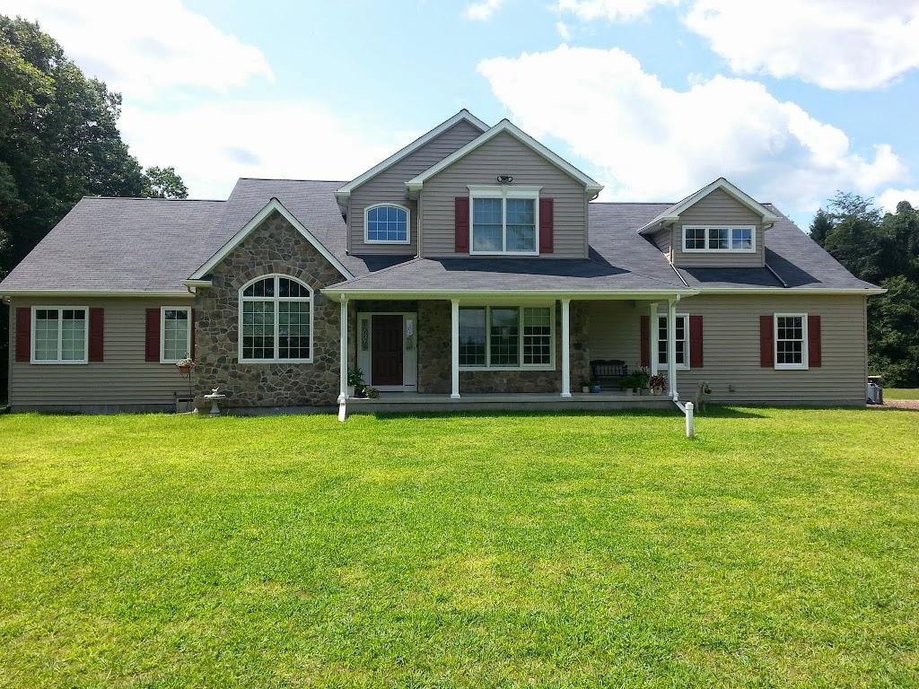 Custom home builder in montgomery county pa bucks county pa for Custom home garage