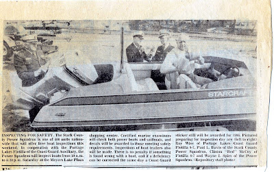 Roy Wise Inspecting Boats