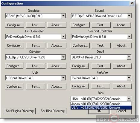 0.9.7 PCSX2 TÉLÉCHARGER BIOS