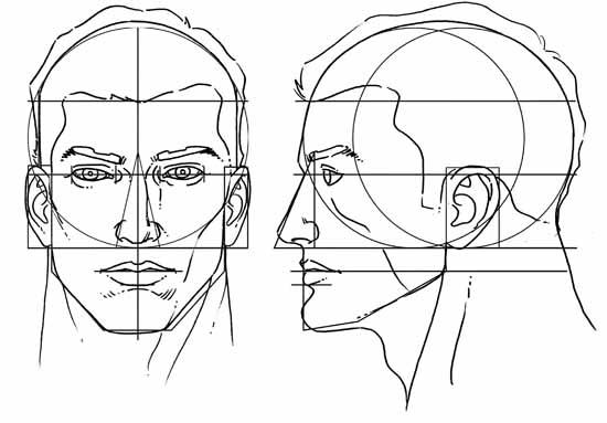 Rostos Desenhos: No Mundo Da Arte: Figura Humana