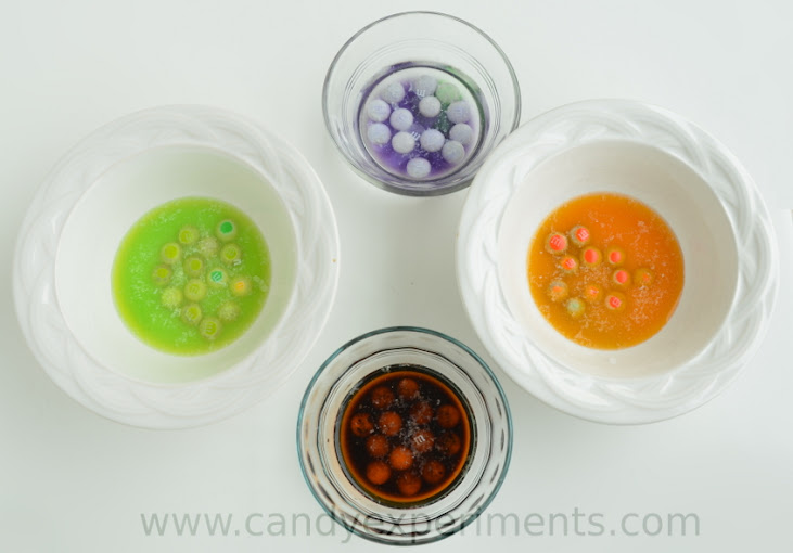 Color Mixing with Candy