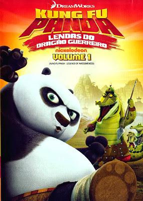 Filme Poster Kung Fu Panda: Lendas Do Dragão Guerreiro Vol.1 DVDRip XviD Dual Audio & RMVB Dublado