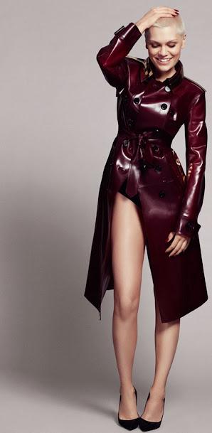Jessie J, en cueros