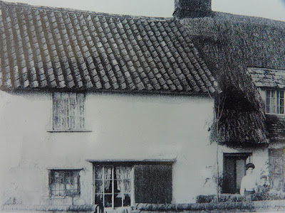 Cottage adjoining Prince Regent, Hauxton Road, Little Shelford (Den Maskell and mother)
