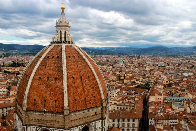 dome famous firenze steps climbing