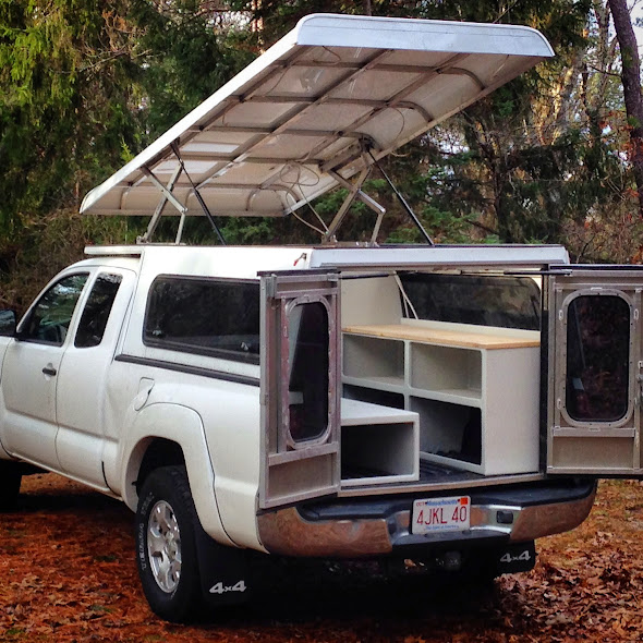 Tacoma Aluminum Pop Up Expedition Portal